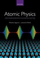 Omslag - Atomic Physics: Precise Measurements and Ultracold Matter