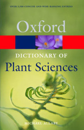 A Dictionary of Plant Sciences av Michael Allaby (Heftet)