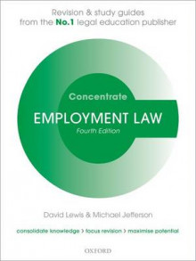 Employment Law Concentrate av David Lewis og Michael Jefferson (Heftet)