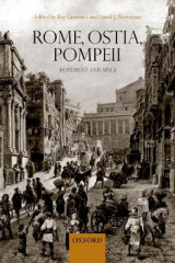 Omslag - Rome, Ostia, Pompeii: Movement and Space.