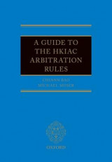Omslag - A Guide to the HKIAC Arbitration Rules