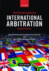 Omslag - Redfern and Hunter on International Arbitration