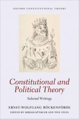 Omslag - Constitutional and Political Theory