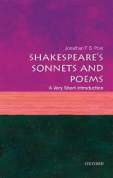 Omslag - Shakespeare's Sonnets and Poems: A Very Short Introduction