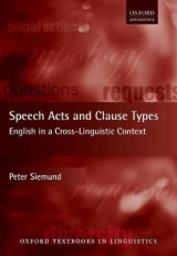 Omslag - Speech Acts and Clause Types