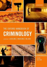 Omslag - The Oxford Handbook of Criminology