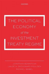 Omslag - The Political Economy of the Investment Treaty Regime
