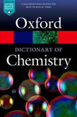 Omslag - A Dictionary of Chemistry