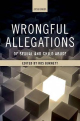 Omslag - Wrongful Allegations of Sexual and Child Abuse