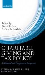 Omslag - Charitable Giving and Tax Policy