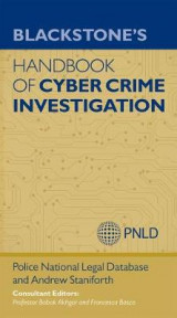 Omslag - Blackstone's Handbook of Cyber Crime Investigation