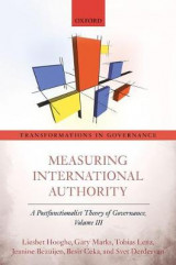 Omslag - Measuring International Authority