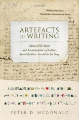 Omslag - Artefacts of Writing