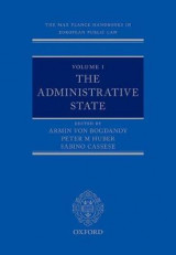 Omslag - The Max Planck Handbooks in European Public Law: Volume I: The Administrative State
