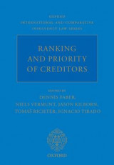 Omslag - Ranking and Priority of Creditors