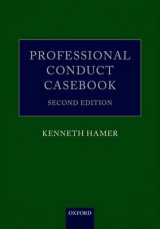 Omslag - Professional Conduct Casebook