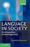 Language in Society av Suzanne Romaine (Heftet)