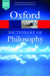 Omslag - The Oxford Dictionary of Philosophy