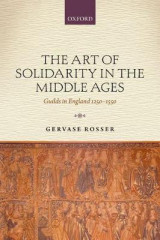 Omslag - The Art of Solidarity in the Middle Ages