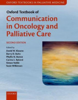 Omslag - Oxford Textbook of Communication in Oncology and Palliative Care