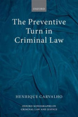 Omslag - The Preventive Turn in Criminal Law