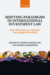 Omslag - Shifting Paradigms in International Investment Law