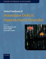 Omslag - Oxford Textbook of Attention Deficit Hyperactivity Disorder
