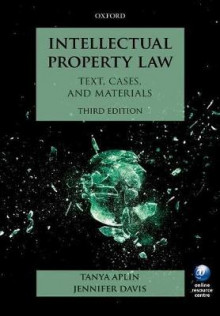 Intellectual Property Law av Tanya Aplin og Jennifer Davis (Heftet)