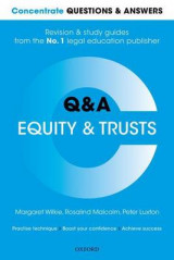 Omslag - Concentrate Questions and Answers Equity and Trusts