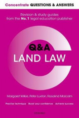 Omslag - Concentrate Questions and Answers Land Law