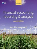 Omslag - Financial Accounting, Reporting, and Analysis
