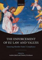 Omslag - The Enforcement of EU Law and Values