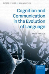 Omslag - Cognition and Communication in the Evolution of Language