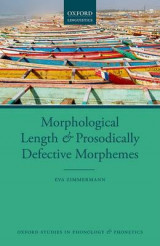 Omslag - Morphological Length and Prosodically Defective Morphemes