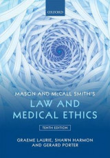 Omslag - Mason and McCall Smith's Law and Medical Ethics