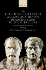 Omslag - The Hellenistic Reception of Classical Athenian Democracy and Political Thought