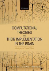Omslag - Computational Theories and Their Implementation in the Brain