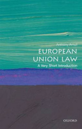 Omslag - European Union Law: A Very Short Introduction
