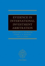 Omslag - Evidence in International Investment Arbitration