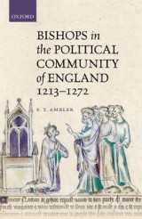 Omslag - Bishops in the Political Community of England, 1213-1272