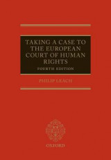 Omslag - Taking a Case to the European Court of Human Rights