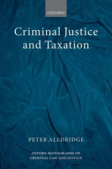 Omslag - Criminal Justice and Taxation