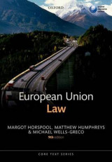 Omslag - European Union Law