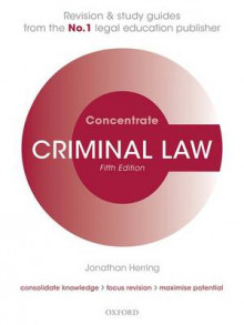 Criminal Law Concentrate av Jonathan Herring (Heftet)
