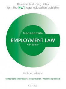 Employment Law Concentrate av Michael Jefferson (Heftet)