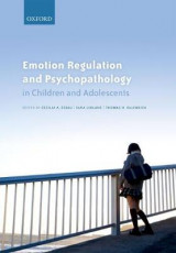 Omslag - Emotion Regulation and Psychopathology in Children and Adolescents