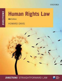 Human Rights Law Directions av Howard Davis (Heftet)