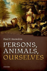 Omslag - Persons, Animals, Ourselves