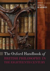 Omslag - The Oxford Handbook of British Philosophy in the Eighteenth Century