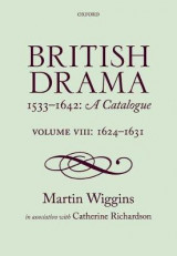 Omslag - British Drama 1533-1642: A Catalogue
